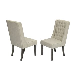 Dions Dining Side Upholstered Dining Chair (Set of 2)