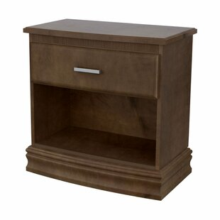 Carnegie Hill 1 Drawer Nightstand by Akin