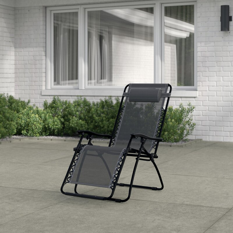 Yard Zero Gravity Lounge Chair Side Tray Cup Holder Beach Table Fold Travel PAR