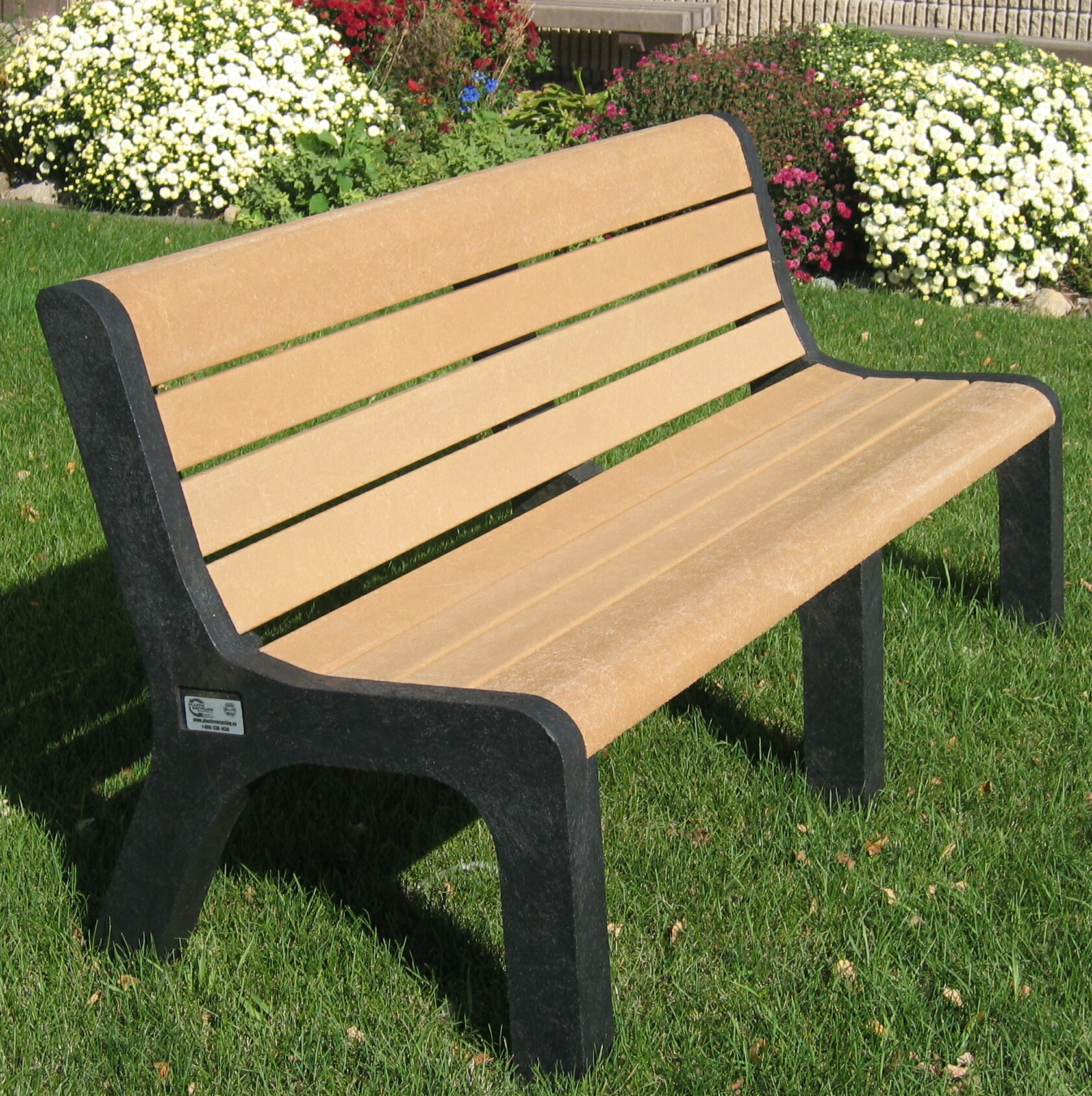 Freeport Park Sierra Plastic Park Bench Wayfair