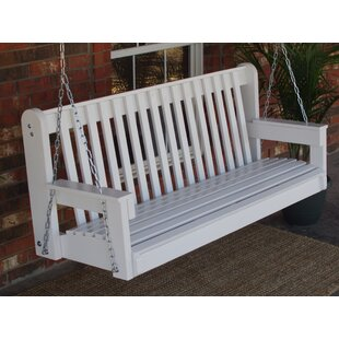 Micelotta High Back Porch Swing by August Grove