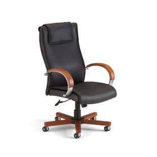 Darby Home Co Leather Executive Chair