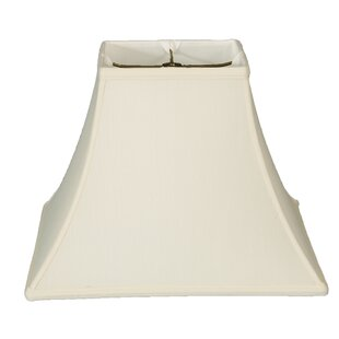 Read Reviews 12 Silk/Shantung Square Bell Lamp Shade By Darby Home Co