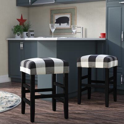 Prime Gracie Oaks Proxima 24 Inch Bar Stool Color Black Theyellowbook Wood Chair Design Ideas Theyellowbookinfo