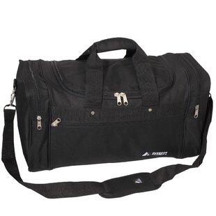 Black NBA Philadelphia 76ers Wheeled Duffle Bag 22 x 12 x 5.5