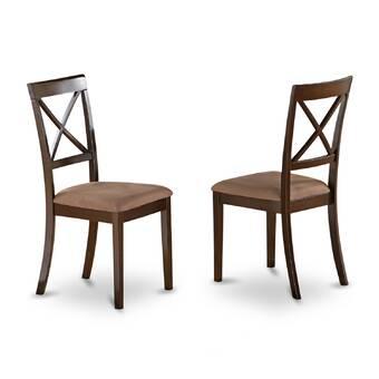 East West Milan Side Solid Wood Dining Chair Reviews Wayfair