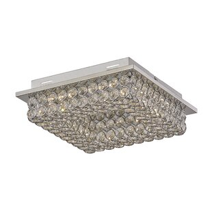 House of Hampton Nash 1-Light Flush Mount