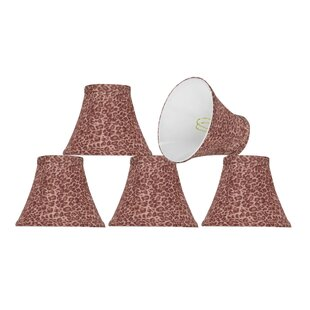 Modern 6'' Fabric Bell Lamp Shade (Set of 5)