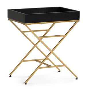 Inexpensive Moira Tray Table BySimpli Home