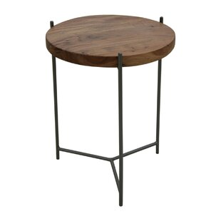 17 Stories Abner Round End Table