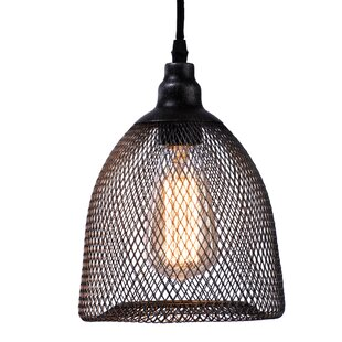 1-Light Cone Pendant by Lighting World