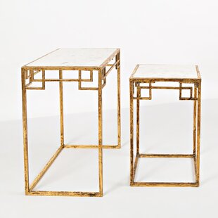 Callimont 2 Piece Nesting Tables by Bungalow Rose
