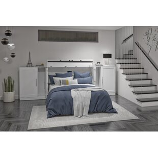 Pisgah Storage Murphy Bed with Mattress by Latitude Run