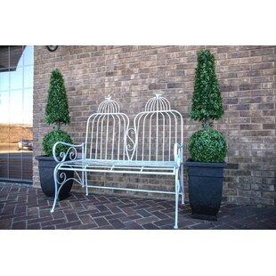 Rafferty Metal Garden Bench