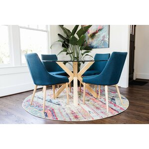 Kaylin Modern 5 Piece Breakfast Nook Dining Set by Corrigan Studio