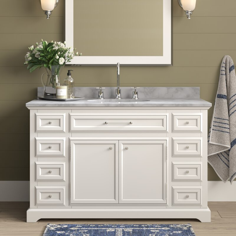 Eric 48 Single Bathroom Vanity Set Reviews Joss Main