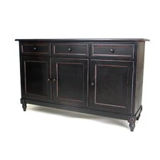 Brookfield 3 Drawer Console Cabinet by Oriental Furniture