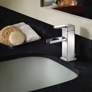 Moen 90 Degree Single Hole Bathroom Faucet with Drain