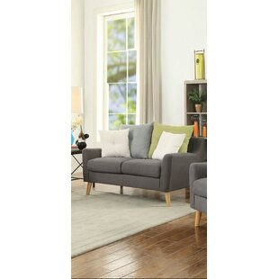 Reviews Campbell Loveseat by Corrigan Studio Reviews (2019) & Buyer's Guide