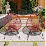 Red Corrigan Studio Outdoor Club Chairs You Ll Love In 2021 Wayfair