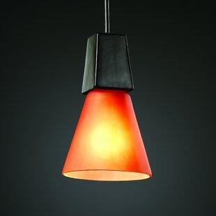 Ebern Designs Burman 1 Light Cone Pendant