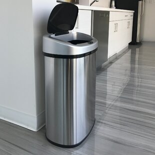 Automatic Trash Can 21 Gallon Wayfair