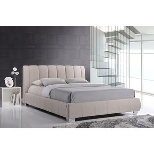 Chad Queen Upholstered Platform Bed by Mercer41 #2