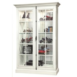 Canora Grey Braithwaite Lighted Curio Cabinet
