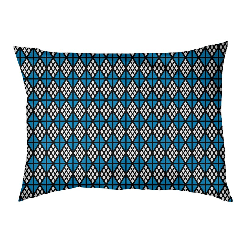 Tucker Murphy Pet Byrge Diamonds Cat Designer Pillow Wayfair