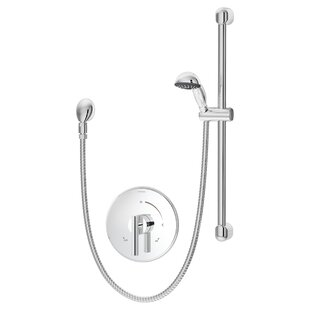 Symmons Dia Pressure Balance Hand Shower System with Lever Handle
