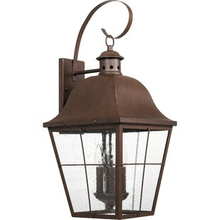 Darby Home Co Danielson 4-Light Outdoor Wall Lantern