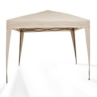 Hampton 10 Ft. W x 10 Ft. D Steel Pop-Up Canopy by Crosley