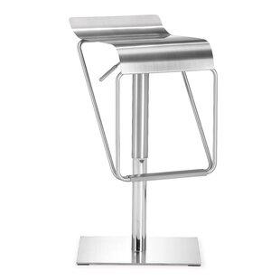 Raiford Adjustable Height Bar Stool