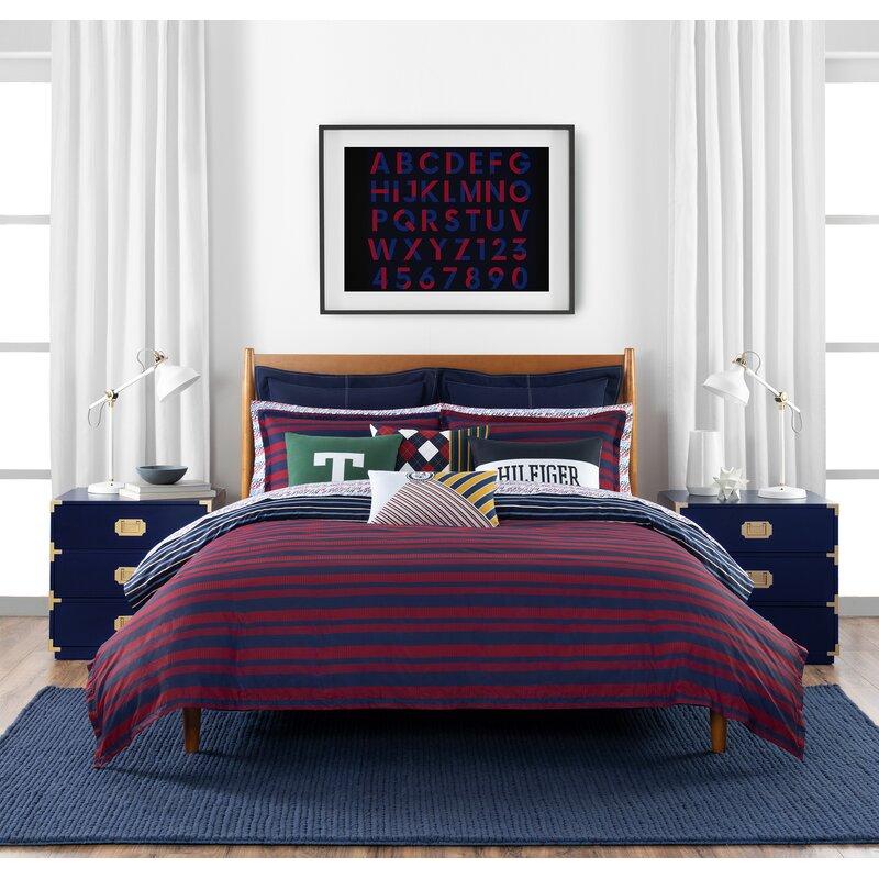 Tommy Hilfiger Th Heritage Stripe Comforter Set Wayfair