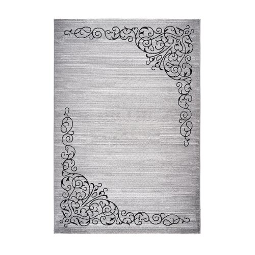 Petersburgh Silver Rug Ophelia and Co. Size: Runner 80 x