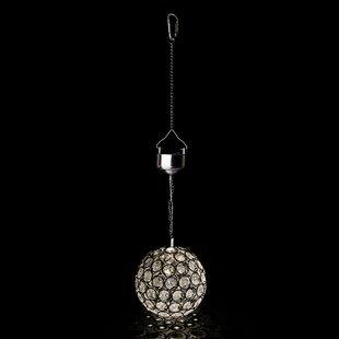 Solar Crystal Ball Light - Warm White LED Image
