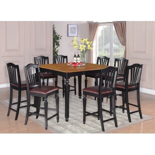 Ashworth 9 Piece Counter Height Pub Table Set