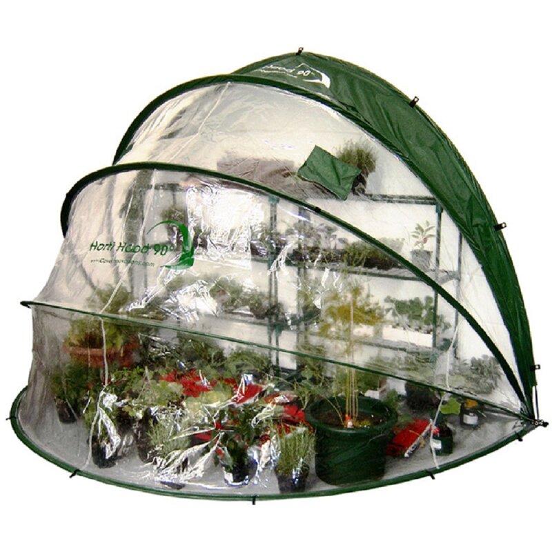 Primm 1.7m W x 2.5m D Mini Greenhouse