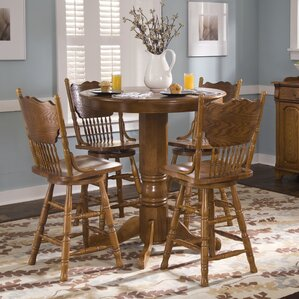 Acadian Counter Height Dining Table by Alcott Hill