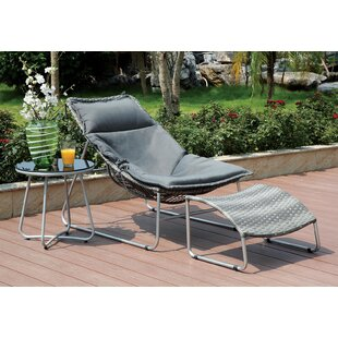 Ivy Bronx Mattes Patio Chair with Cushions
