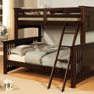 Genebern Twin over Full Bunk Bed by Harriet Bee