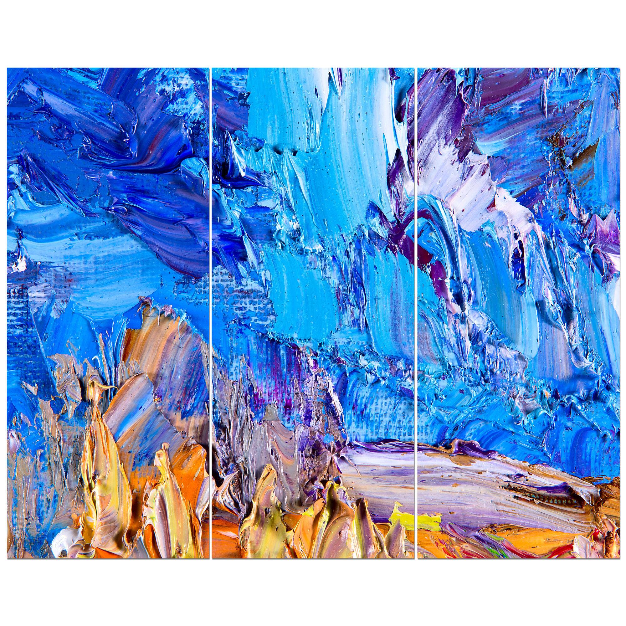 Oil Abstract Art On Canvas
