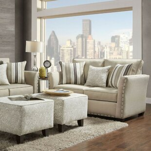 Alcott Hill Hallatrow 2 Piece Living Room Set