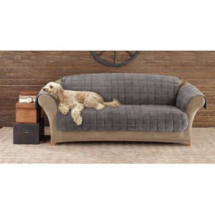 Shop Deluxe Comfort Box Cushion Sofa Slipcover by Sure Fit