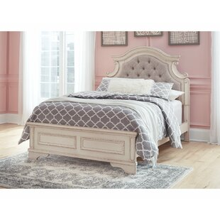 Inexpensive Realyn Upholstered Panel Bed by Signature Design by Ashley Reviews (2019) & Buyer's Guide