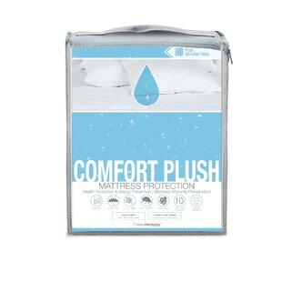 Glideaway Comfort Plush Hypoallergenic Waterproof Mattress Protector