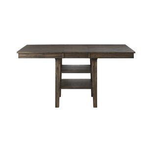 Scales Counter Height Extendable Solid Wood Dining Table Gracie Oaks