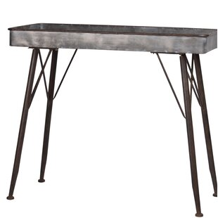 Roseanna Metal Rectangle Console Table by Gracie Oaks