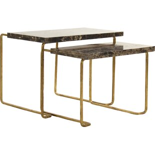 Check Prices Amoux Nesting Tables (Set of 2) by Zentique