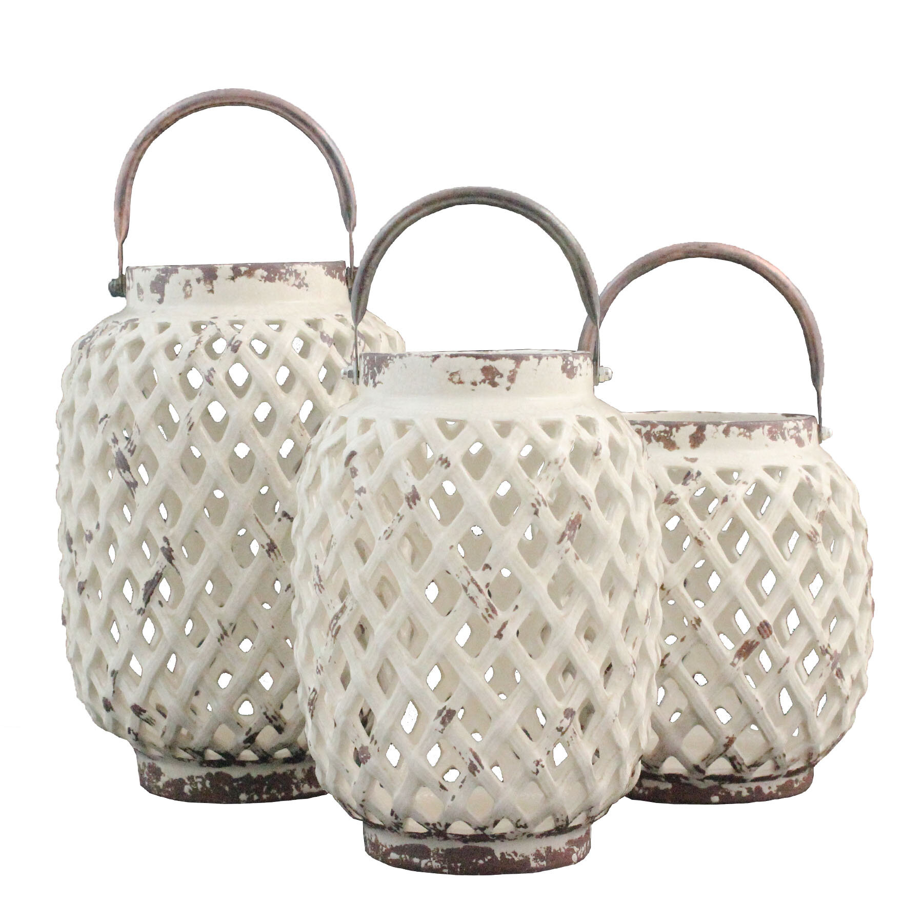 Ceramic Lantern Candle Holders You Ll Love In 2021 Wayfair
